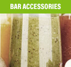 Request a quote for commercial bar accessories